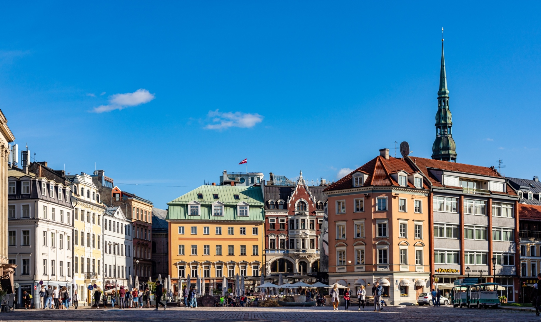 Riga Main Square. Photo by Evelyn Apinis